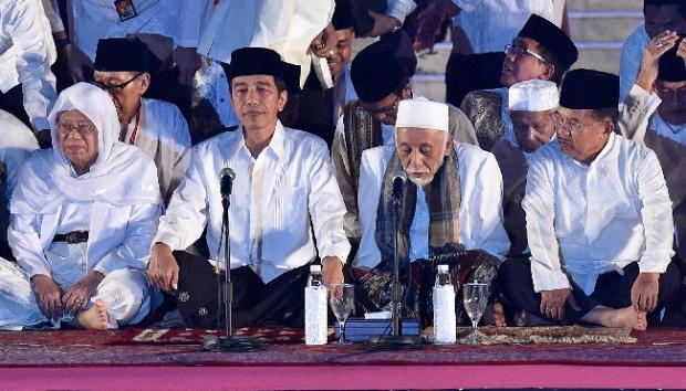 Kiai Sepuh Banten: Soal Umur Ma'ruf Amin, Sepenuhnya Kuasa Allah