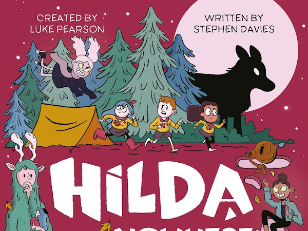 Book Review | Hilda and the Nowhere Space by Luke Pearson and Stephen Davies