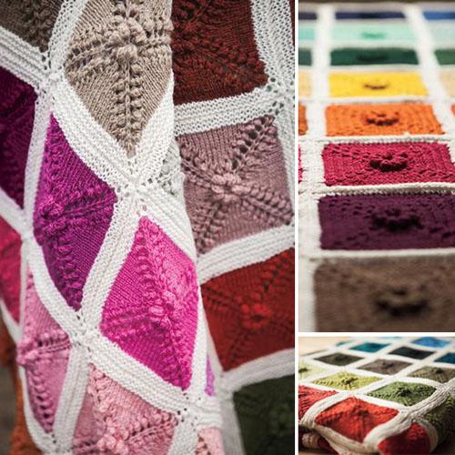 Ultimate Knit Palette Blanket - Free Pattern