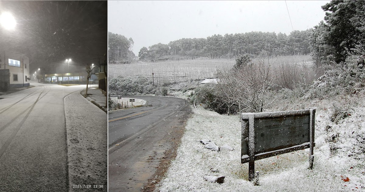 Brazil Experiences Unusual Snowfall Forcing Up The Price of Sugar, Coffee And Fruits Worldwide