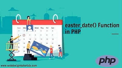 PHP easter_date() Function