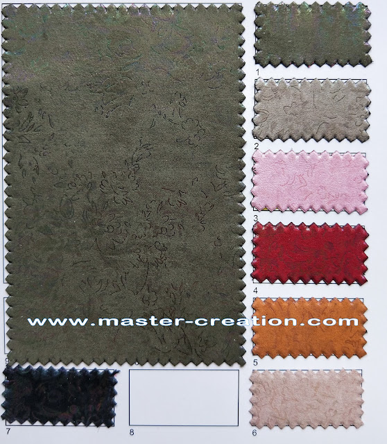 pattern engraved leather fabric
