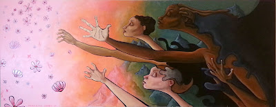 Darlene Newman | Reach for the Stars | 12x35 | $250