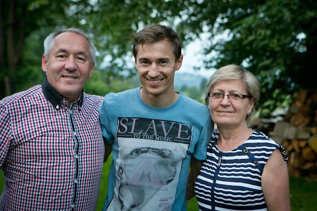 W odwiedzinach u rodziców Kamila Stocha