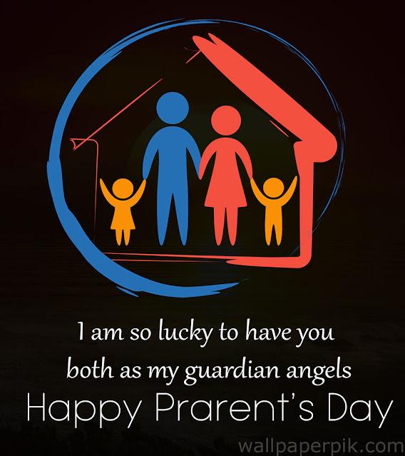 happy parent's day theme