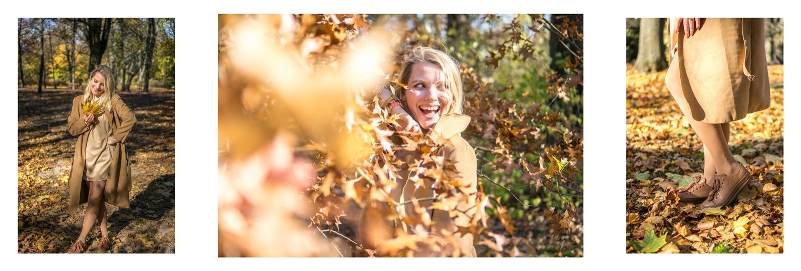 2 co założyć do karmelowego płaszcza jaki modny płaszcz na jesień tanie płaszcze z paskiem bez kaptura jesień łódź moda stylizacja dla blondynek
