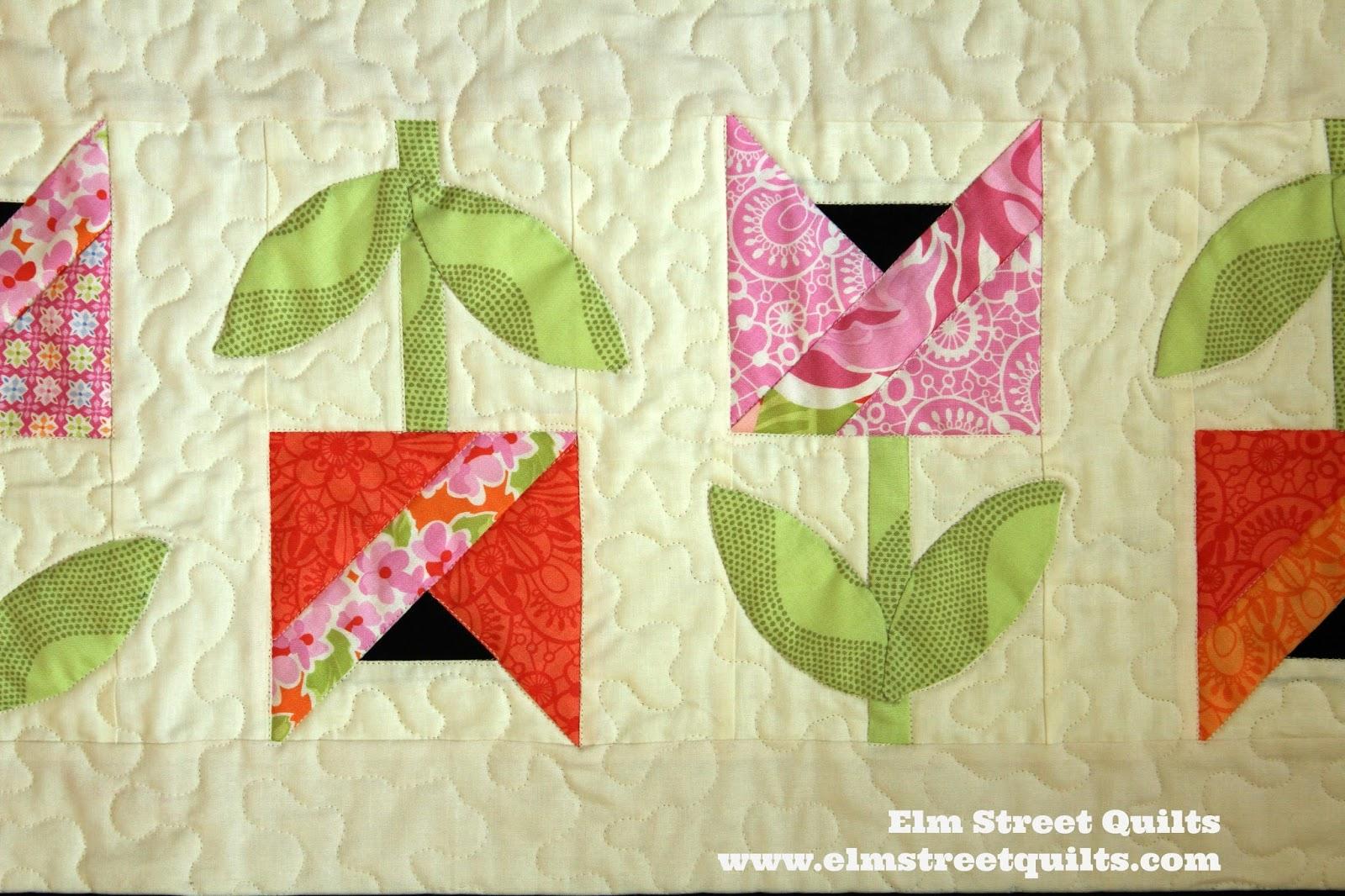 Tulips | Elm Street Quilts : tulip quilts - Adamdwight.com