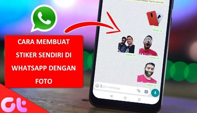 cara membuat stiker sendiri di WhatsApp