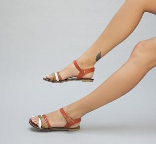 sandale fara toc de vara corai la cel mai mic pret online