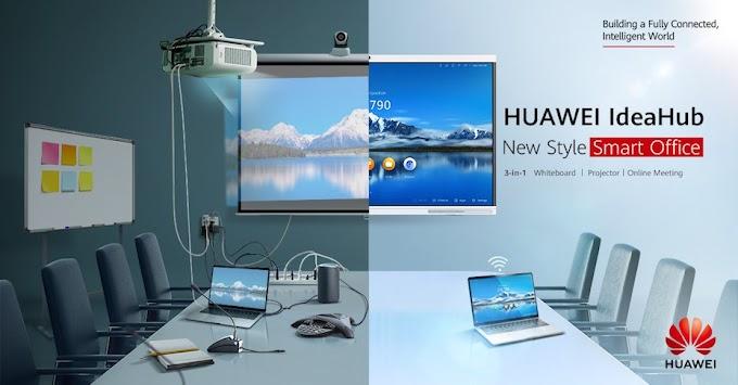 HUAWEI IdeaHub, Inovasi Percepatan Pejabat Pintar Digital