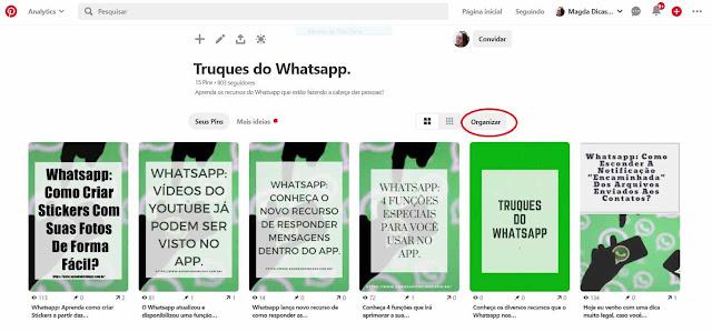 Pinterest: Pasta Truques de Whatsapp