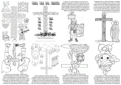 Cruces De Mayo Historia Y Materiales Para Colorear S C
