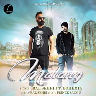 Malang Lyrics - Bal Sehri Ft Bohemia Song