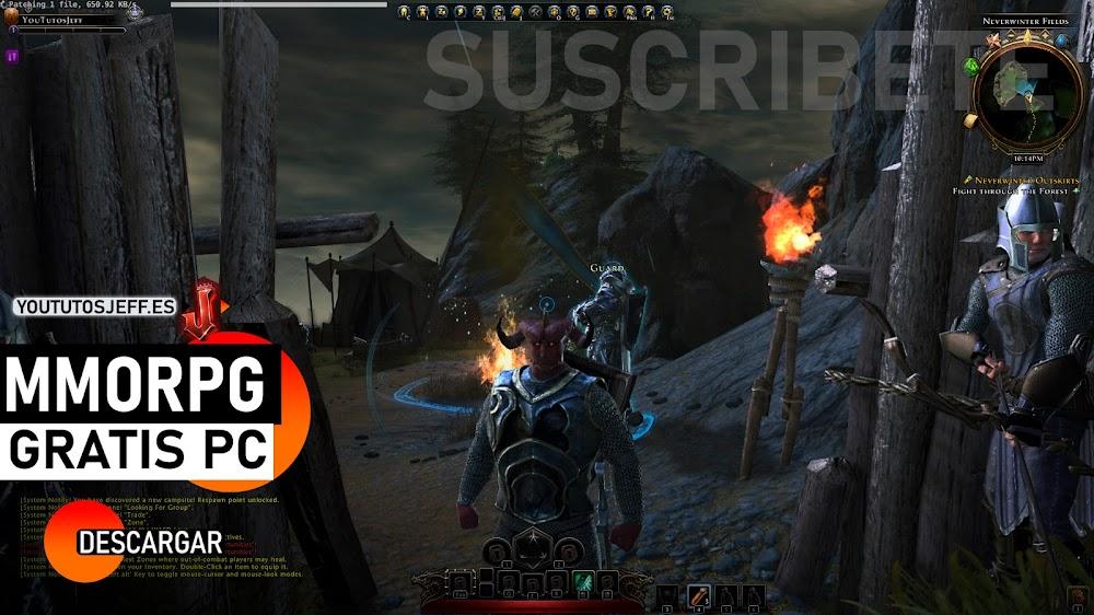 Descargar Neverwinter para PC GRATIS, MMORPG BRUTAL