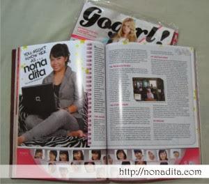 profil nonadita | Anindita Puspitasari | Go Girl!