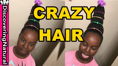 Crazy Hair Day : Natural Hair Cindy Lou Who | DiscoveringNatural