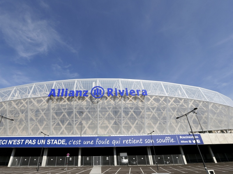 Stadion Allianz Riviera Nice Perancis