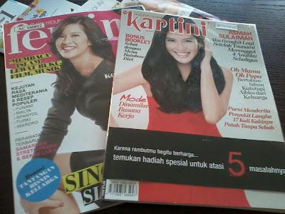 Majalah bercover Dian Sastro