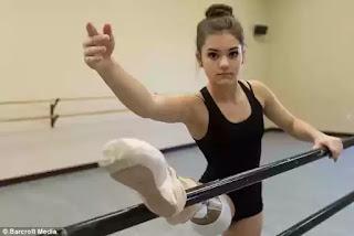 Gabi Shull 15 year old amputee ballerina