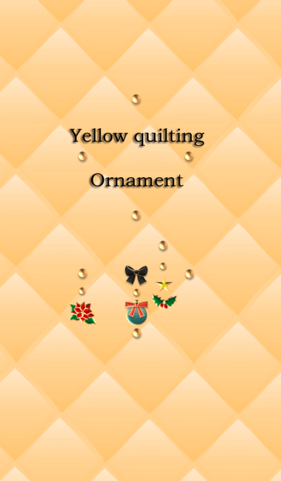 Yellow quilting(Ornament)