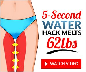 5 second water hack that melts 62 lbs