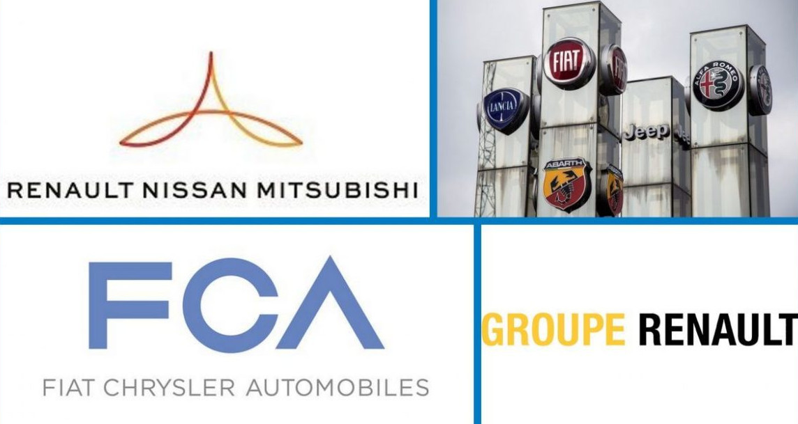 Nissan, Renault y Mitsubishi analizan su alianza ante la oferta de fusión con FCA