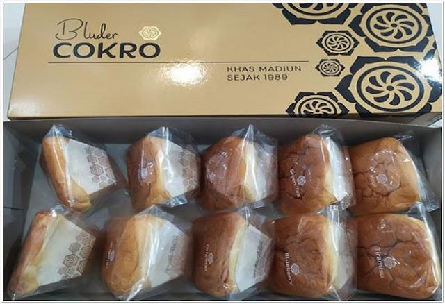 Bluder Cokro;10 Top Kuliner Madiun;