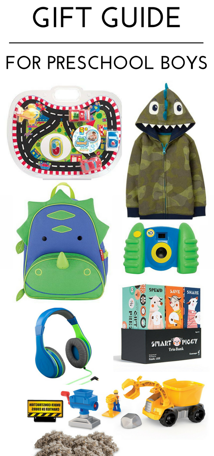 gift ideas for preschool boys 3-4 years old