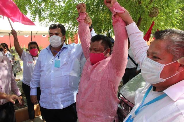 Fuerza por México dirá adiós a la blanca Mérida, por la rosa Mérida: Pedro Haces