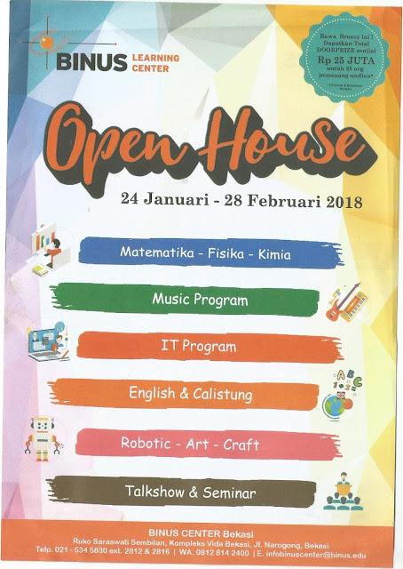 Binus Learning Center Bekasi