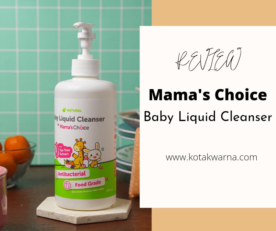 sabun pencuci botol bayi, sabun khusus cuci botol bayi, baby liquid cleanser mama's choice