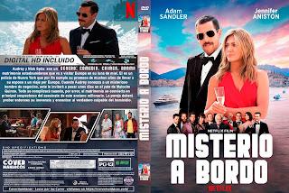 NETFLIX - MISTERIO A BORDO - CRIMINALES EN EL MAR -  MISTERY MURDERS - 2019 [COVER DVD + BLU RAY]