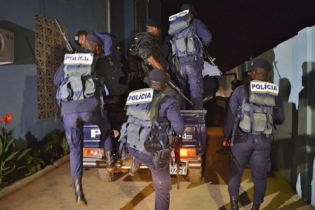 Luanda | Polícia recebida a tiros quando tentavam travar assalto