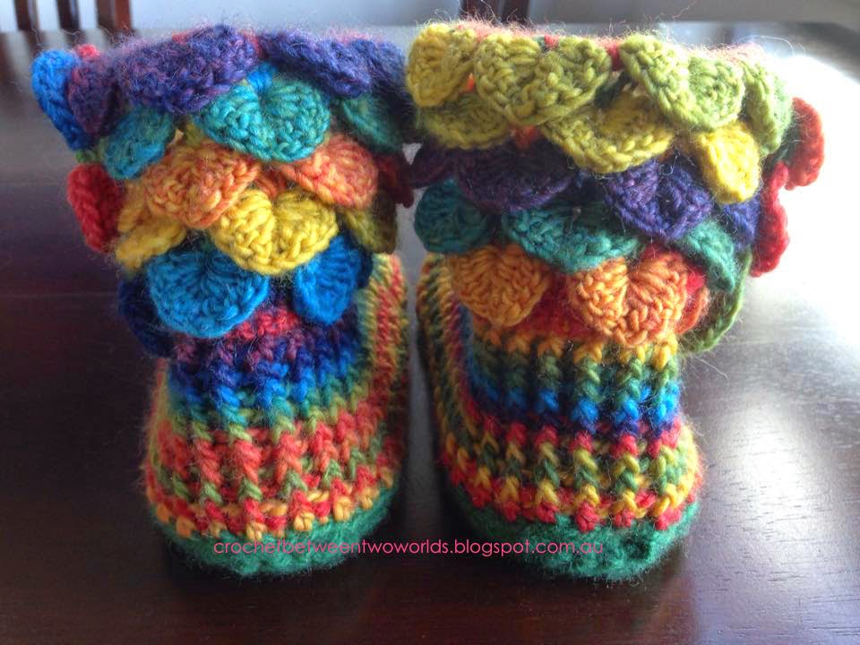 Crochet Between Worlds These Boots Are Made For Snuggling