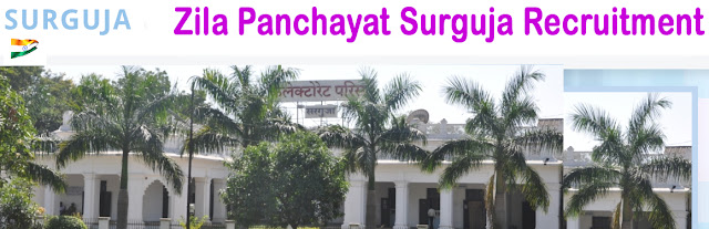 Zila Panchayat Surguja Recruitment surguja.gov.in Online Form