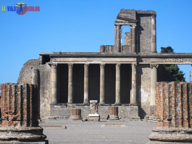 Ruinas de Pompeya - El Viajero Tricolor