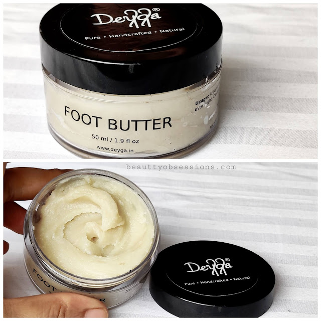 Foot Butter from Brand Deyga