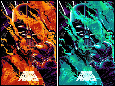 "New York Comic Con 2019 Exclusive Star Wars ""His Deeds Will Not Be Forgiven Until He Merits"" Screen Print by Anthony Petrie x Bottleneck Gallery"