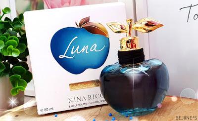 Blog PurpleRain Parfum : Les Belles de Nina - Luna Notino