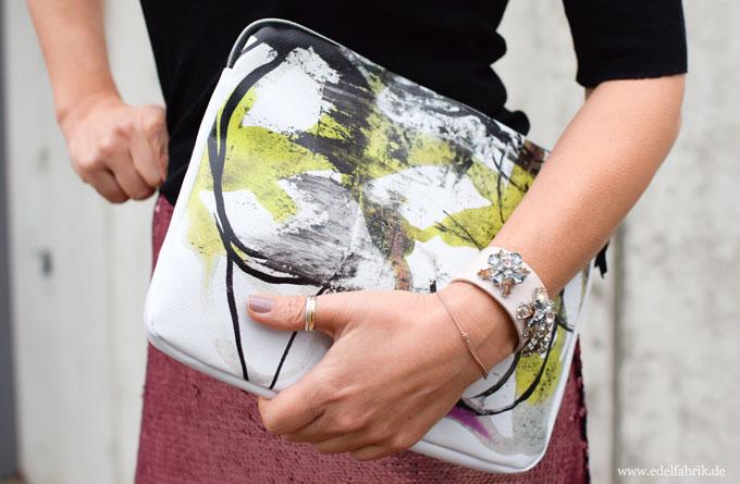 Proenza Schouler, Handtasche mit Print