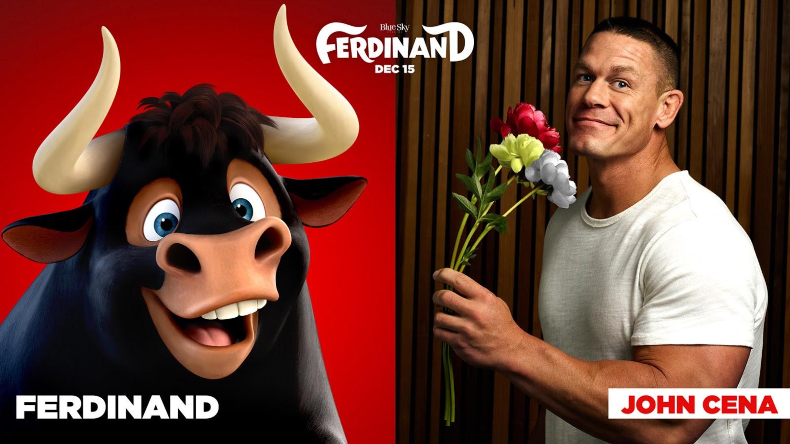 John Cena as Ferdinand