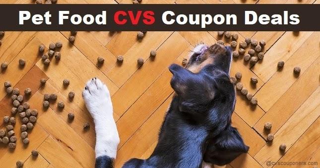 Pet Food Coupon Deals at CVS