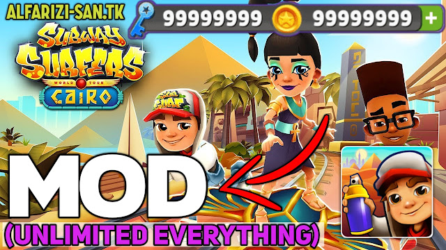 Subway Surfers Apk v1.116.0 MOD, (Unlimited Money/Coins/Key) for Android