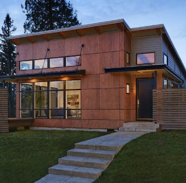 Classic Minimalist 2-Story Wooden House