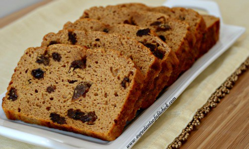 Sweet Potato Raisin Bread border=