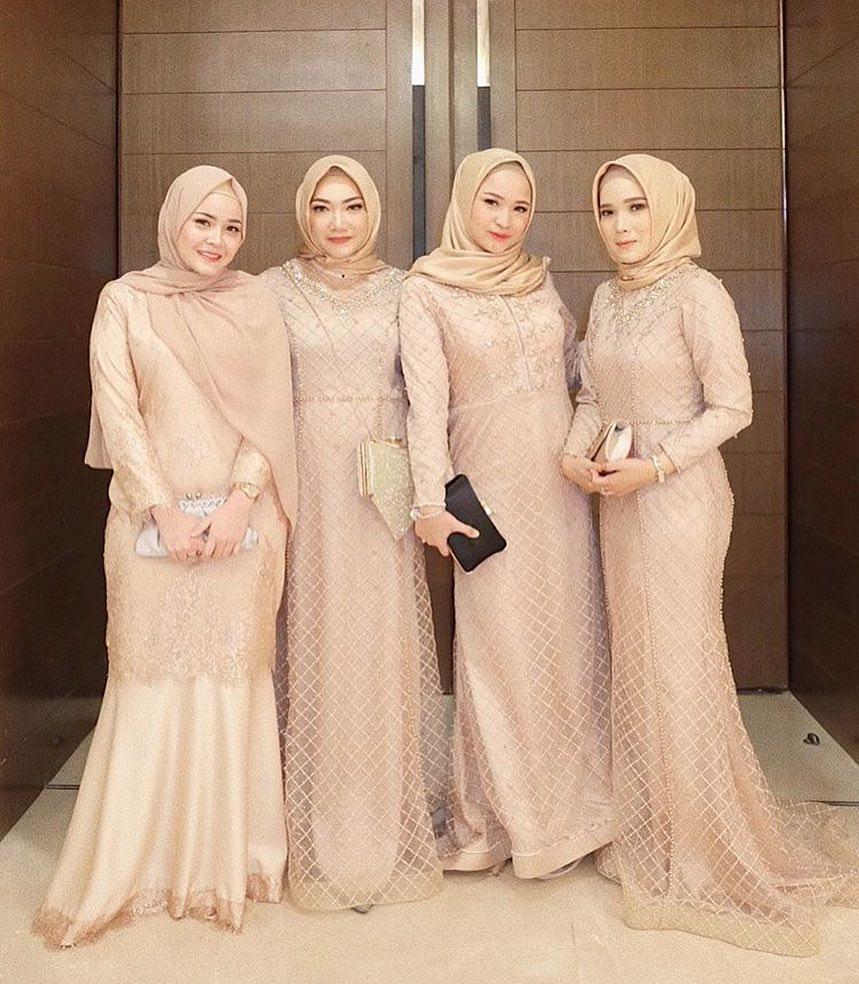85 Model Kebaya Muslim Modern Terbaru 2019 Model Baju Muslim