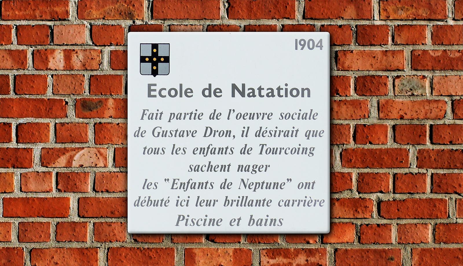 Ancienne École de Natation - Tourcoing, rue Gabriel Péri.