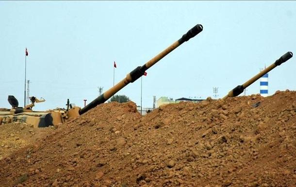 Армія Туреччини обстріляла 21 ціль у Сирії через загибель військового
