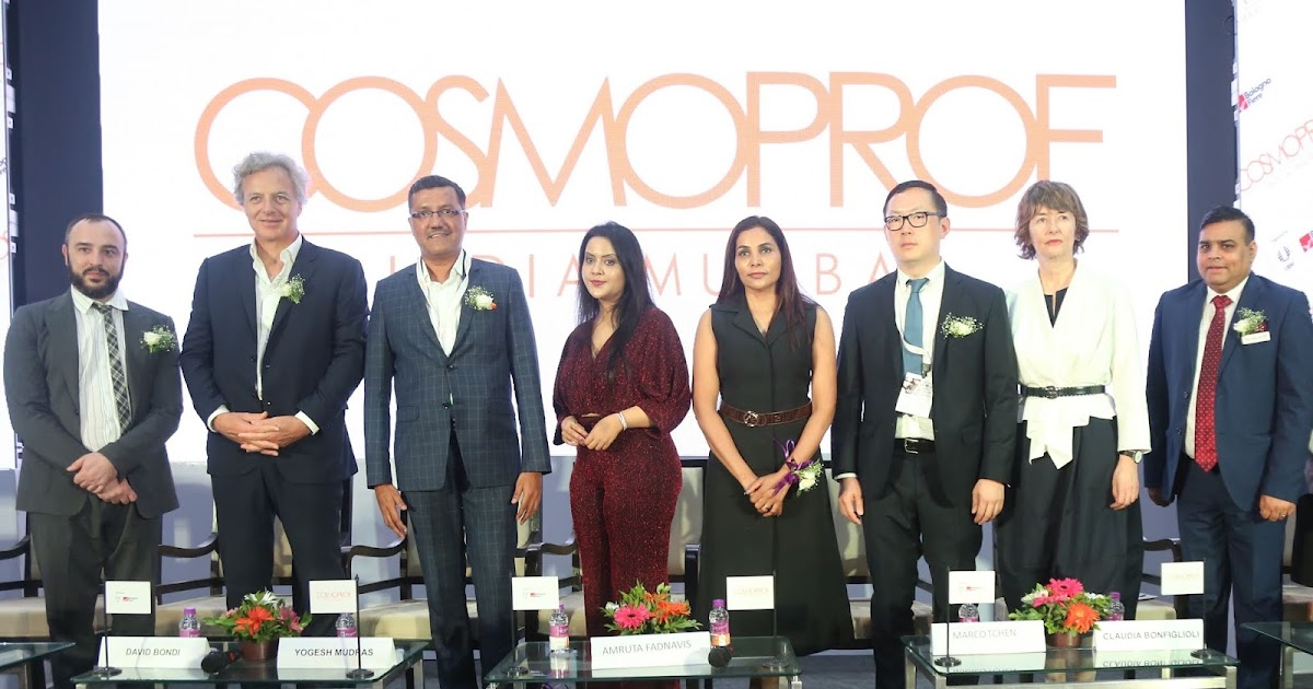 COSMOPROF INDIA MUMBAI 2019 HOSTS THE FUTURE OF THE BEAUTY INDUSTRY IN INDIA