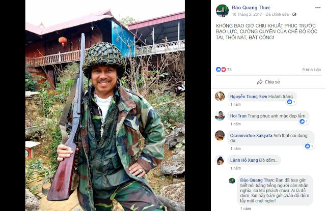 Chiêu trò bao biện cho các tân tù nhân Nguyễn Văn Túc, Đỗ Công Đương và Đào Quang Thực